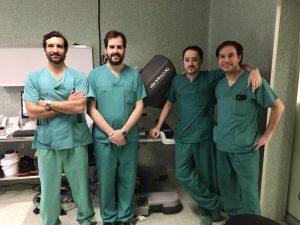 Inicio de programa de Cirugia robotica en HM Sanchinarro con Urologia Tratamiento. Equipo Dr. Romero.