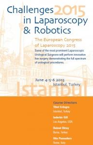 Participación en el Curso mundial de laparoscopia y robótica urológica Estambul