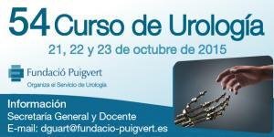 Asistencia al 54º Curso de la Fundación Puigvert – Octubre 2015